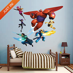 Big Hero 6 Collection Fathead Wall Decal